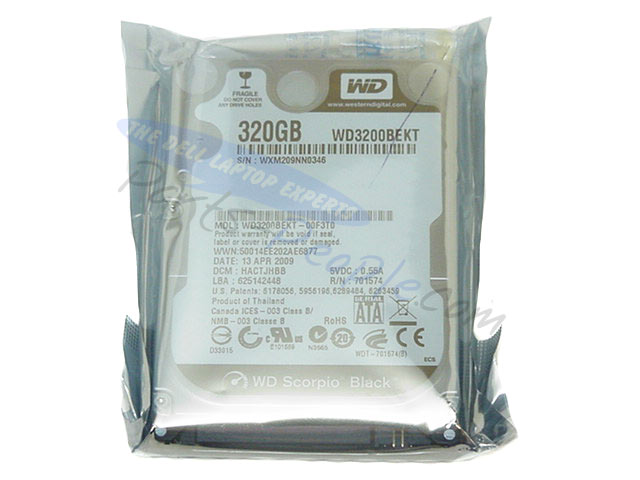 WD3200BEKT Image